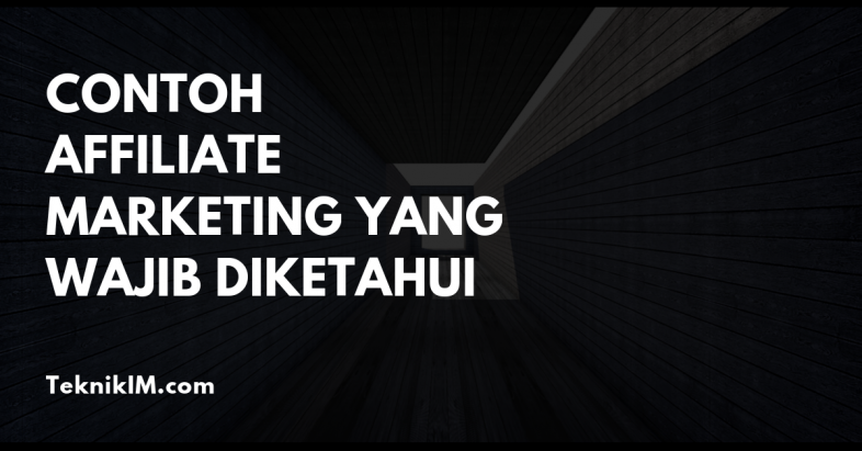 contoh affiliate marketing